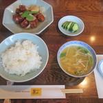 驪山 - 酢豚のランチセット