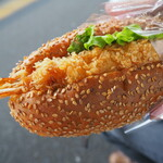 ロリアン - 料理写真:エビフライのパン