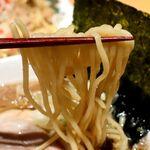 154056673 - 20210703油かす中華そば特製しょうゆ・麺リフト
