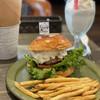 グリーディ フォックス バーガー - 料理写真:ガリバタマッシュルームバーガー