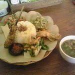 cafe Bali Campur - ナシチャンプルー
