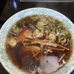 銀水 - 「醤油ラーメン」700円