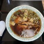 銀水 - 醤油ラーメン