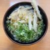 長住うどん - 料理写真:ゴボテンうどん440円