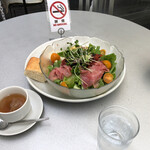 ECO FARM CAFE 632 - 本日のサラダプレート