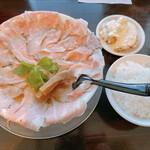 らーめん まるかん - 料理写真:チャーシューメン白 ロース + Bランチセット