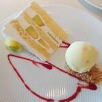 アルゾーニ・イタリア - 季節のショートケーキ+100円