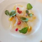 アルゾーニ・イタリア - 本日の鮮魚のカルパッチョ