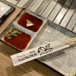 広島ホルモン・冷麺・元祖たれ焼肉 肉匣 - カウンター