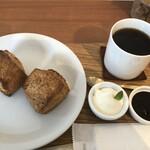 ノチハレ珈琲店 - 料理写真:さくほろスコーンとハレブレンドのセットで@800円