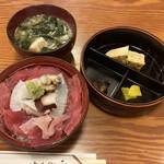 生麦 - 料理写真:納得丼