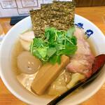 らぁめん 葉月 - 汐特ワンタン麺
