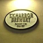 T.Y.HARBOR - 壁に掲げられた看板