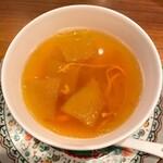 中国料理 仙ノ孫 - 薬膳スープ