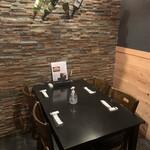 154098235 - 個室のテーブル席