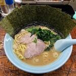 154099194 - ラーメン800円麺硬め。海苔増し100円。