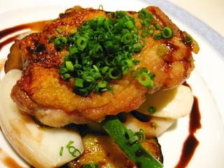 ル・レガル・トワ - シェフ気まぐれ本日のお肉料理(チキンのソテー バルサミコソース) ※アップ