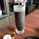 地鶏焼肉 一鳥 - アイスコーヒー♪