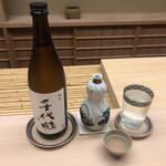 154101884 - 富山 滑川 千代鶴 純米                       →しっとりとした旨味ながらも軽やかな純米!その後に続くお料理でも再認識しましたが、やはりこういう命の水がお料理にはしっくりきますよね♪