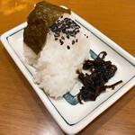 中華そば山冨士 - おにぎり 100円