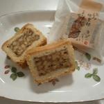 紅谷菓子舗 - 料理写真:当店一番人気のくるみがぎっしり入った信州くるみ倶楽部