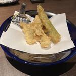 くはら - 料理写真:鱧の天ぷら