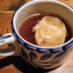 赤坂焼肉 KINTAN - スープです