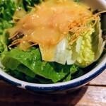 赤坂焼肉 KINTAN - お替りサラダ