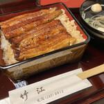 竹江 - 料理写真:鰻重(梅)