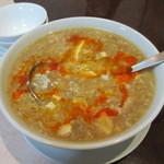 15412108 - 酸味と辛味の五目スープ
