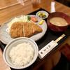 かま屋 - 料理写真:ロースカツ定食
