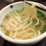 麺ごころ にし平 - 2012年8月:温かいうどん