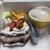 キャトル - 料理写真:メロンショート+ミルフィーユ+マンゴープリン