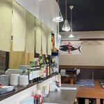 まる信 食堂 -