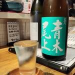 北海道さかな一途 直営魚問屋 - 文佳人 純米吟醸 彗星
