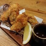 北海道さかな一途 直営魚問屋 - 厚岸 鮮牡蠣フライ 858円