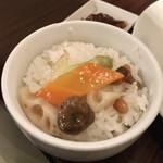 四川雅園 - 今週の野菜定食八宝菜800円