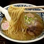 中華そば活力屋 - 細麺です。