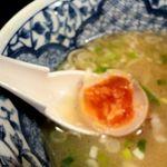 中華そば活力屋 - 味玉は濃い味でかなり好み!