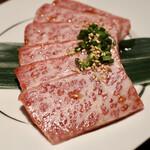 肉のひぐち直営焼肉 安福 - 上カルビ