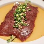 肉のひぐち直営焼肉 安福 - 新鮮レバー
