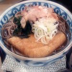 日本料理 空海 - 温ったかそば(アップ)(2012.10)