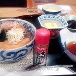 日本料理 空海 - 温ったかそばと天ぷら盛り合わせ(天ぷら未着状態)(2012.10)