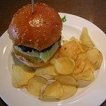 cafe GARDEN - ハンバーガー ランチセット