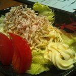 とり料理なか山 - なか山サラダ 700円
