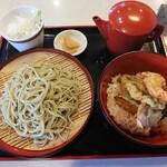 深大寺門前そば本舗 - 料理写真:天丼セット
