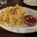 米風亭 - チーズたっぷりフライドポテト
