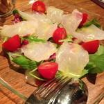 カンティーナ - 本日の魚のカルパッチョ