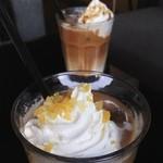 ガーデンカフェ ウィズ テラスバー - マロンラテ