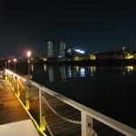 SUNSET 2117 - 尻無川の夜景が・・・